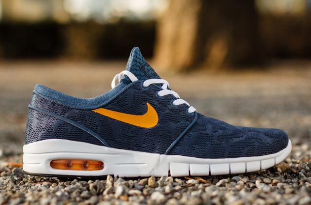 Nike Sb Janoski Max Navy Blue
